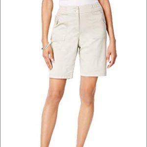 Stonewall Ribbed Waist Utility Shorts